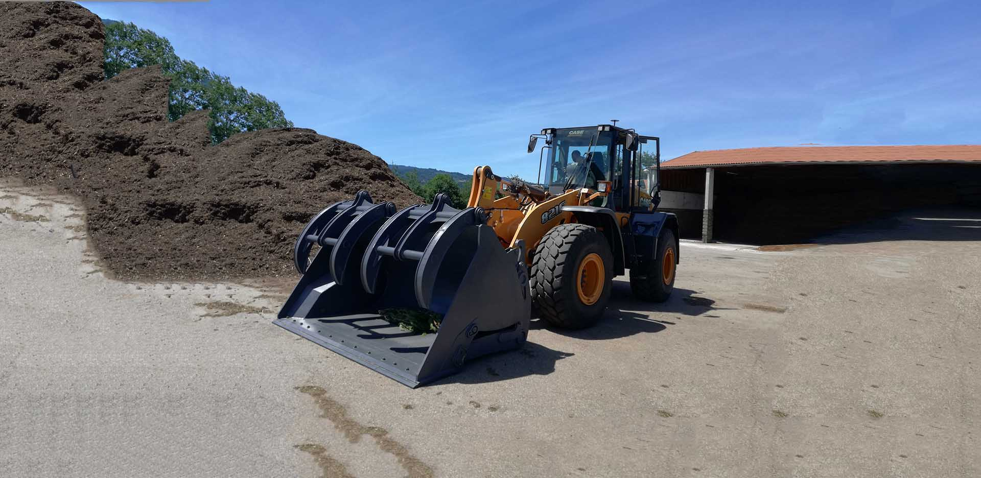 HIGH TIP LOADER BUCKETS